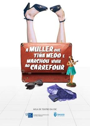 A muller que tiña medo e marchou vivir ao Carrefour